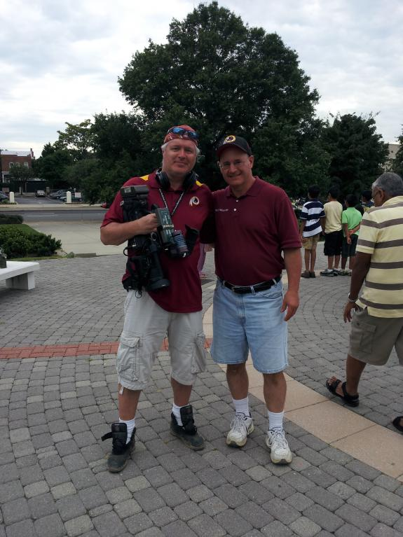 Aug. 3, 2013: Redskins Fan Appreciation Day