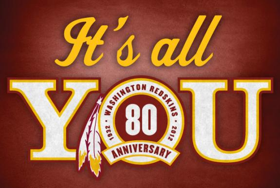 Washington Redskins 80th Anniversary