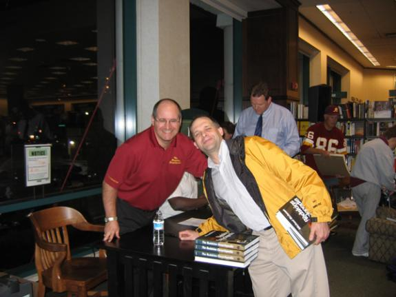 Oct. 25, 2007: Barnes & Noble in Rockville, MD