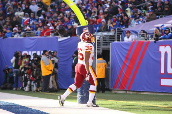 Redskins Legacy: Redskins Shock Giants in 2011