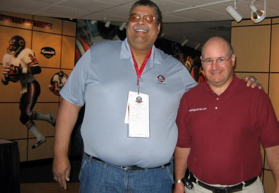 Aug. 6-8, 2010: Pro Football Hall of Fame (Chris Hanburger induction)