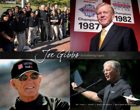 Joe Gibbs' Foundation Unveils New Book on Iconic Redskins Coach