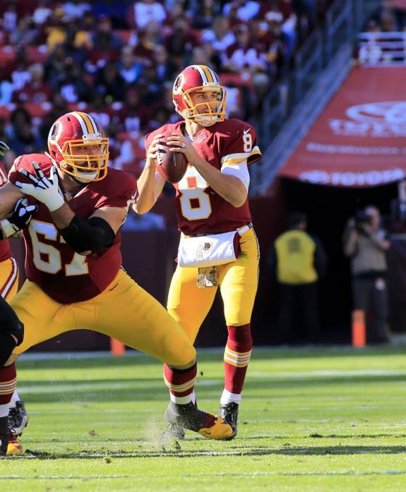 COUSINS HAS CAREER GAME AS REDSKINS DOMINATE SAINTS