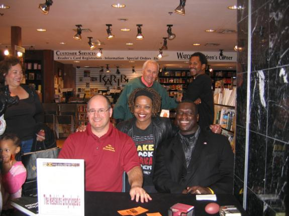 Oct. 13, 2007: Karibu Books in Hyattsville, MD