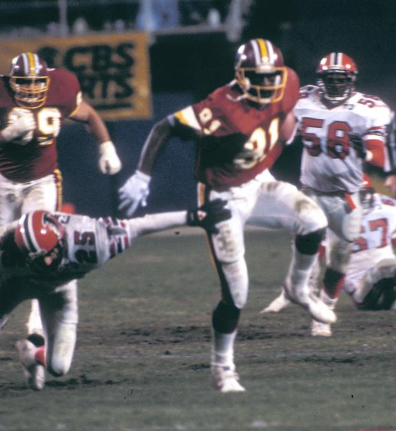 Washington Redskins legendary wide receiver Art Monk