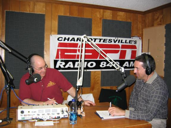 D.C. Sports Blitz on ESPN 840 in Charlottesville, VA