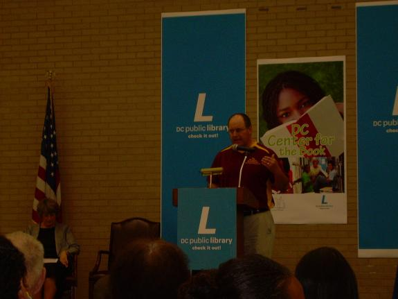 """May 16, 2009: MLK Library, Washington, DC, """"Letters About Literature Awards Ceremony"""