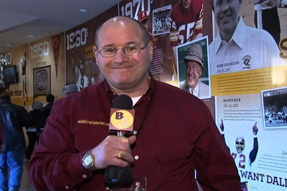 Burgundy & Gold Magazine -- Chris Hanburger's HOF Induction--Redskins History Wall--The Fan Forum
