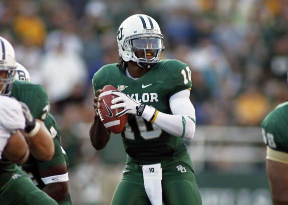 Baylor coach Art Briles on Redskins QB Robert Griffin III (RG3)