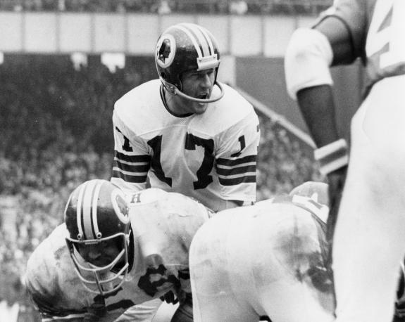 Gutsy Redskins QB Billy Kilmer
