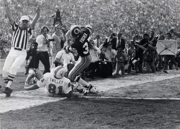 Jan. 14, 1973: Miami Tops Redskins in Super Bowl VII