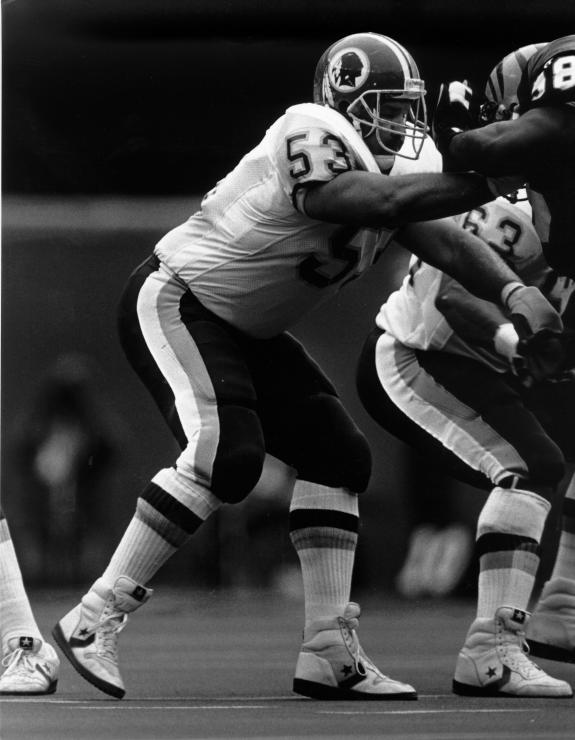 "Original Redskins ""Hog"" Jeff Bostic"