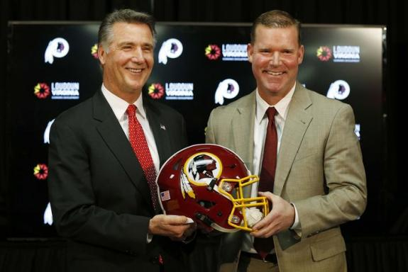 New Redskins GM McCloughan to Rebuild Team Through Draft